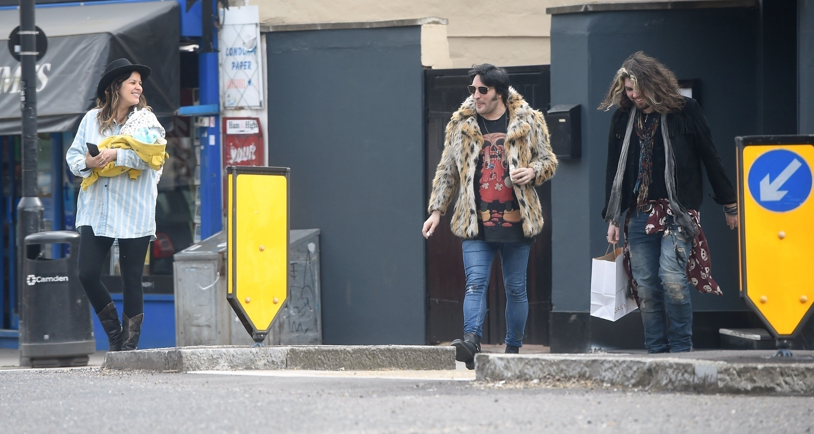 Noel Fielding and Lliana Bird new baby