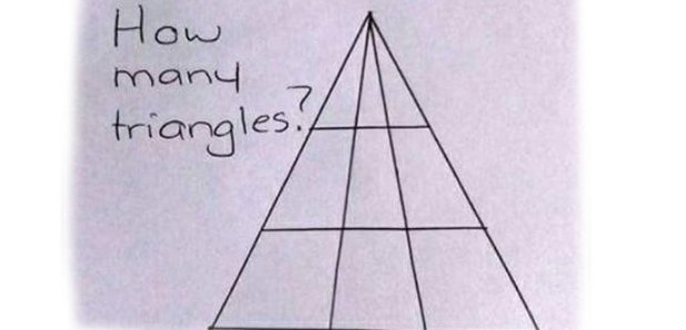 The Exact Number Of Triangles In This Puzzle Has Finally Been Revealed