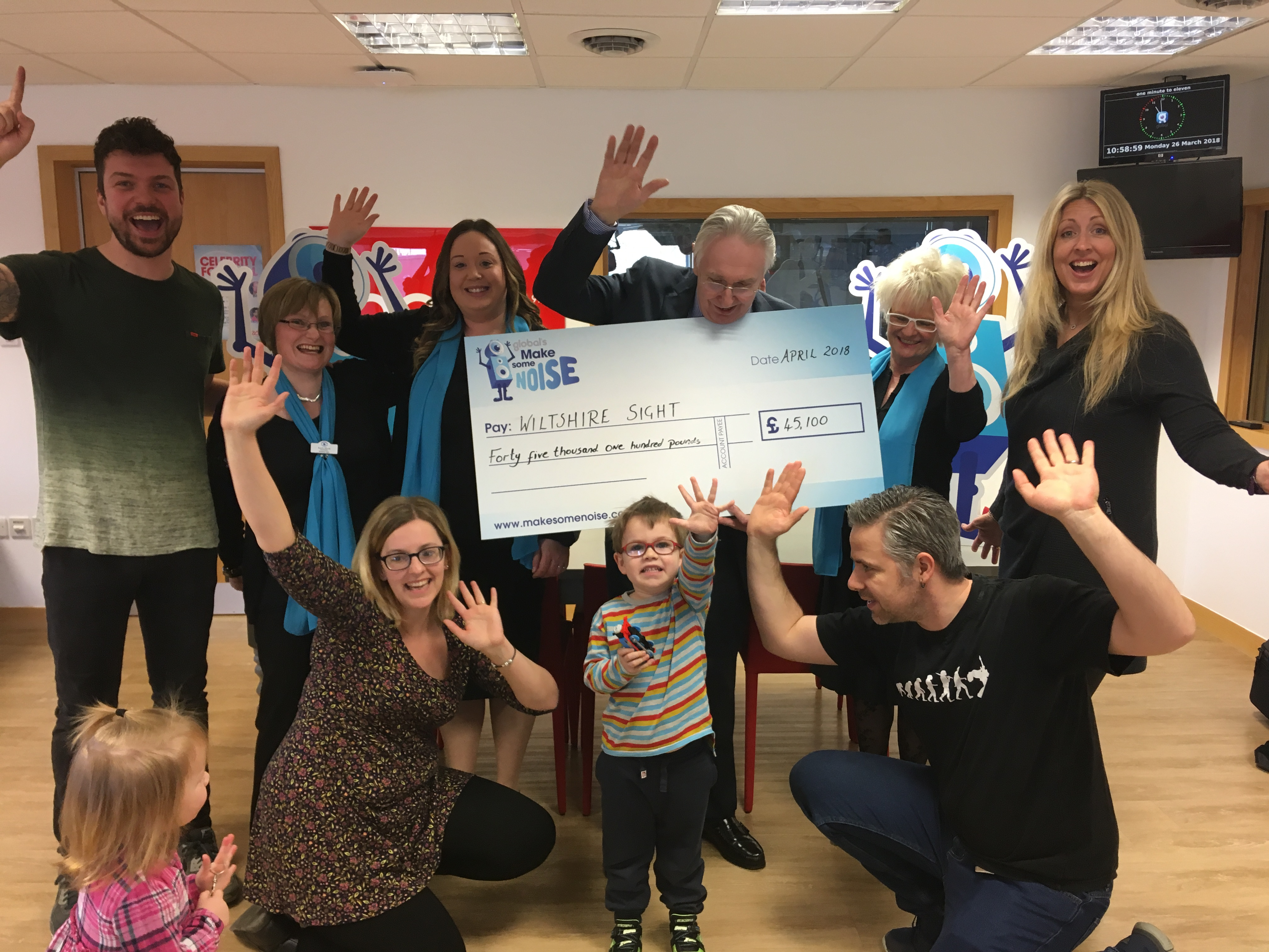 Wiltshire Sight GMSN Cheque Reveal 2018