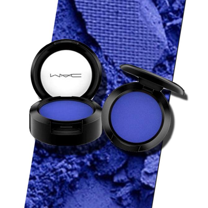 Mac eyeshadow blue
