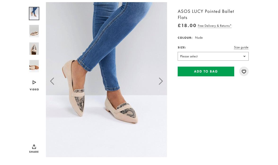 ASOS Lucy Shoes