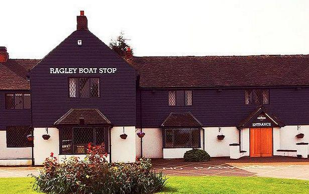 The Ragley Boat Shop outside