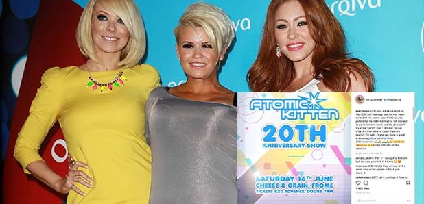 Kerry Katona's Fury As She Is BANNED From 'Atomic Kitten