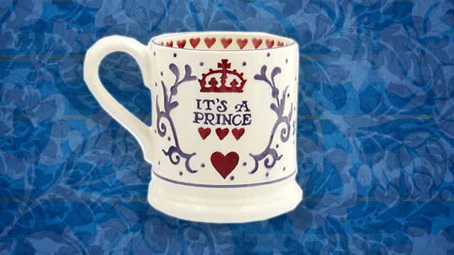 It's a prince Emma Bridgewater