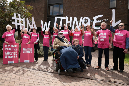 Noel Conway assisted dying case