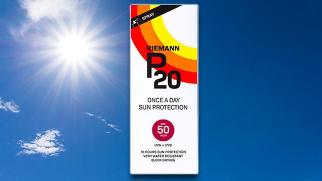 P20 Suncream