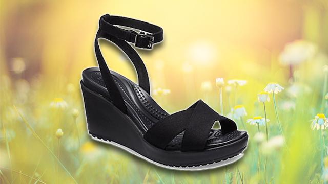Crocs Isabella Block Heels