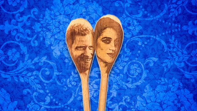 Meghan Harry Spoons