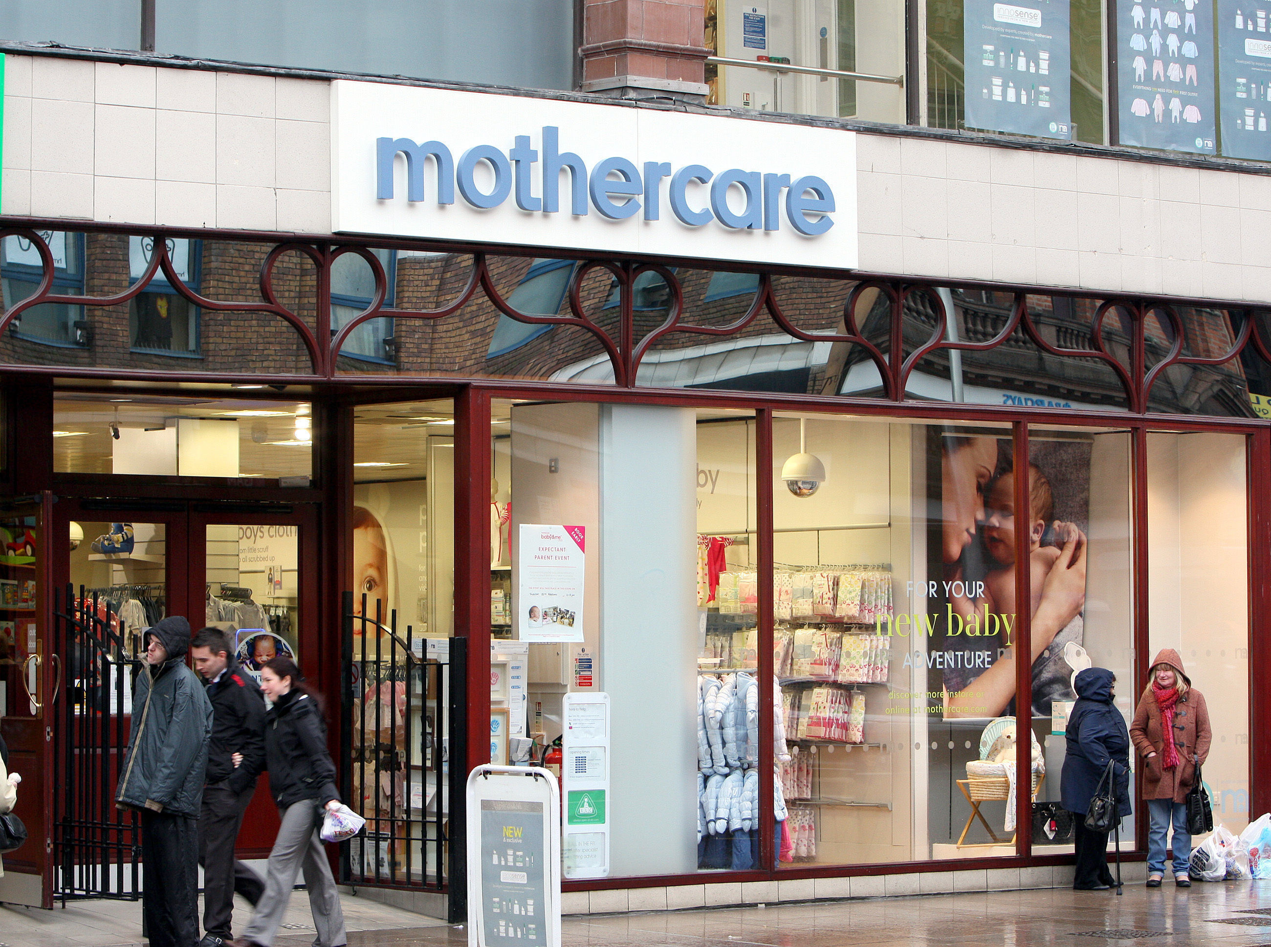 Mothercare stores closing