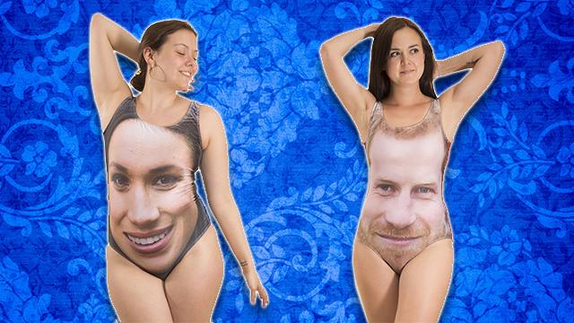 Royal Wedding Swimsuits