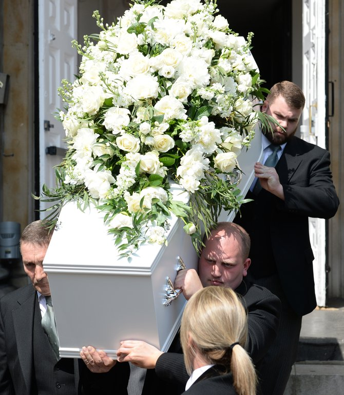Dale Winton is laid to rest as pals gather at star-studded