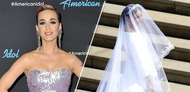 Katy Perry criticises Meghan Markle\'s wedding dress by claiming it ...