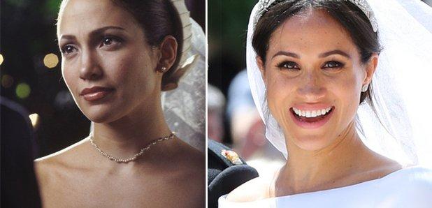 Meghan Markle\'s wedding dress looked like the one Jennifer Lopez ...