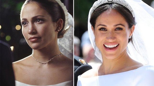 Meghan Markle's Wedding Dress Looked Like The One Jennifer