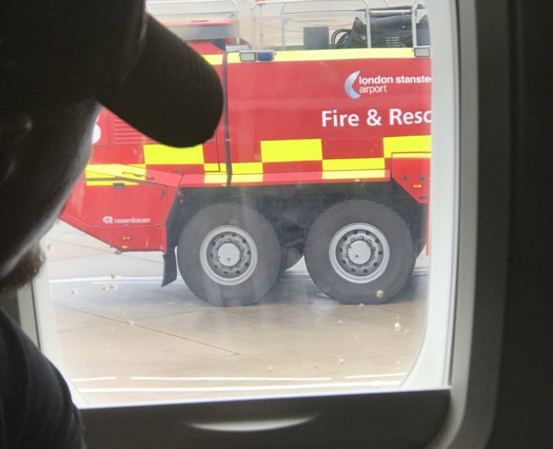 Stansted Airport Plane Collision