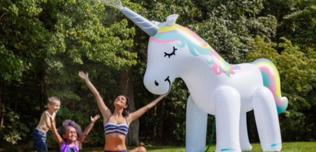 You Can Now Buy A 6ft Unicorn Sprinkler For Your Garden