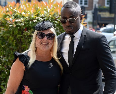 Vanessa Feltz and Ben Ofoedu attend Dale Winton's