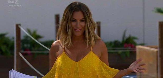 Caroline Flack yellow playsuit: How to buy Love Island ...