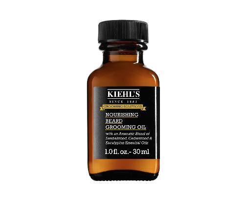 Kiehl's beard grooming oil