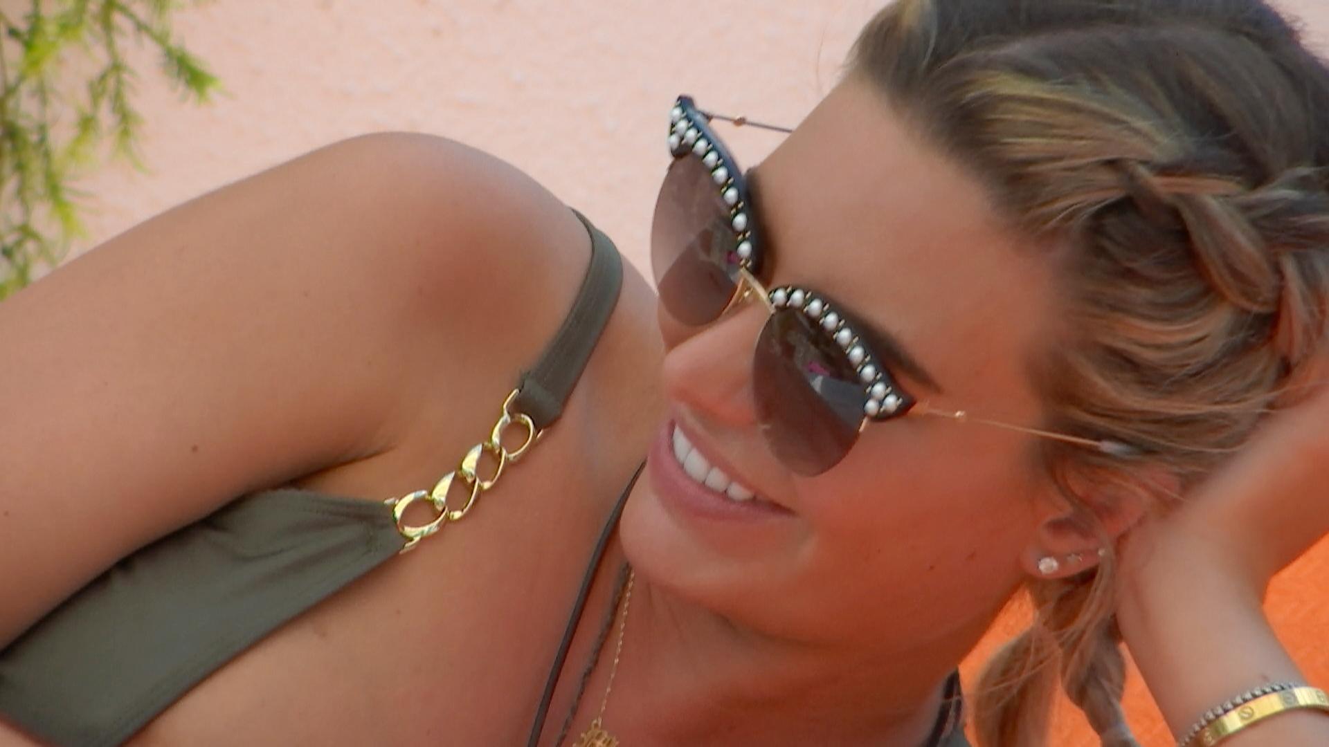 Love Island Megan sunglasses