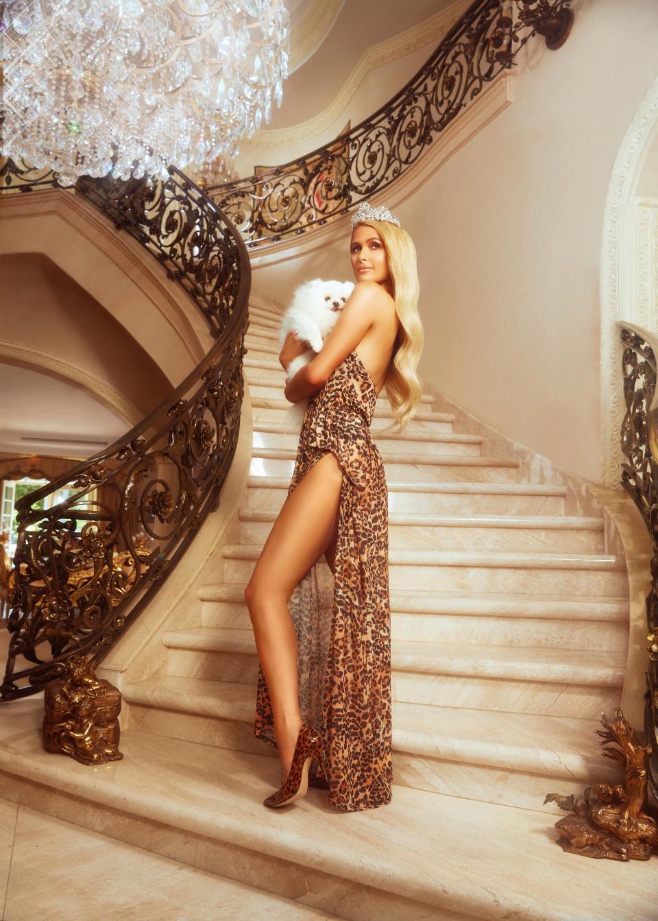 Paris Hilton for Boohoo