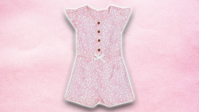 Pink kids summer dress 2