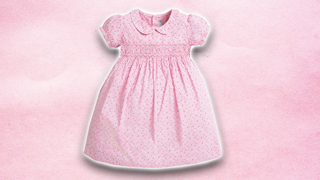 Pink kids summer dress 4