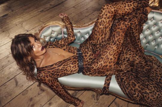 Rat and Boa leopard print
