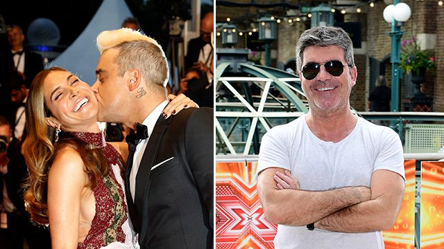 Robbie Williams AND wife Ayda Field will judge on this year's X Factor