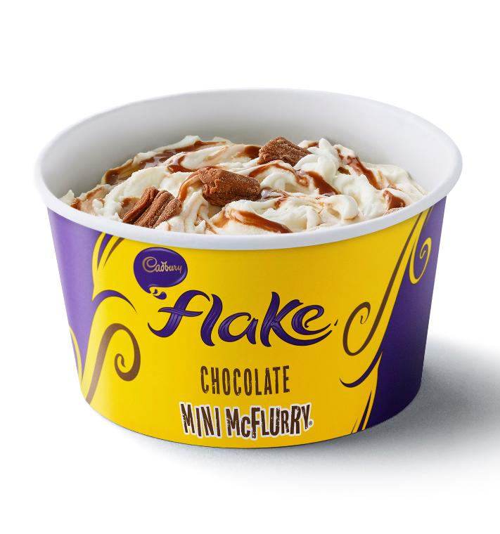 Mini McFlurry Flake