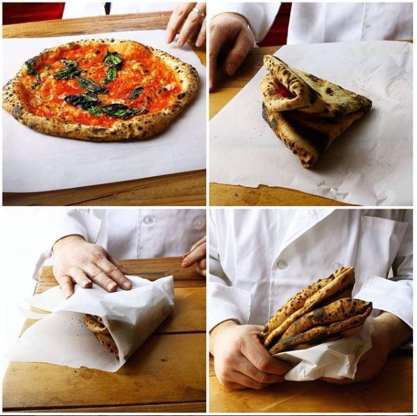 pizza folding