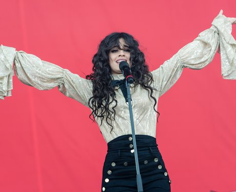 Camila Cabello Performing On Sunday Afternoon At I