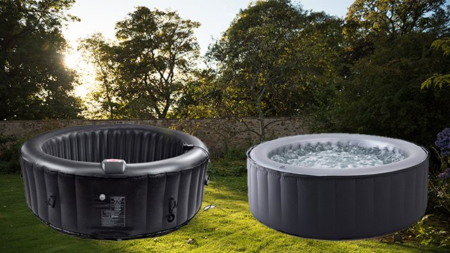 the best home hot tubs and jacuzzis you can order online. Black Bedroom Furniture Sets. Home Design Ideas
