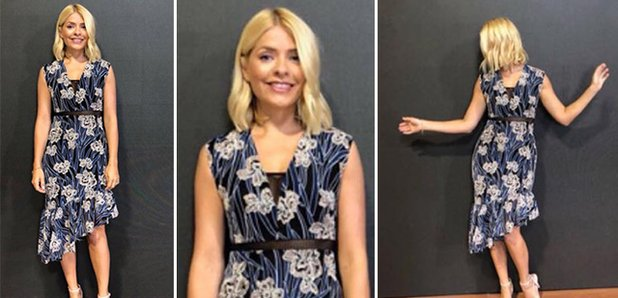 f013b32263ff Holly Willoughby This Morning outfit: Where to buy her blue floral dress