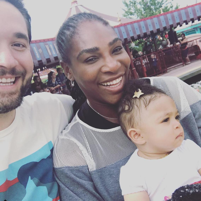 serena williams husband alexis ohanian wimbledon tennis