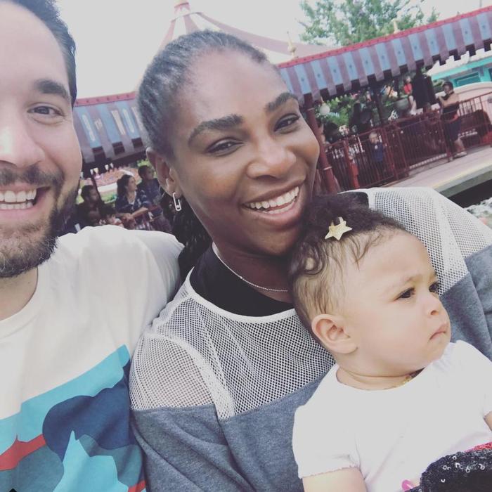 Serena Williams husband and daughter