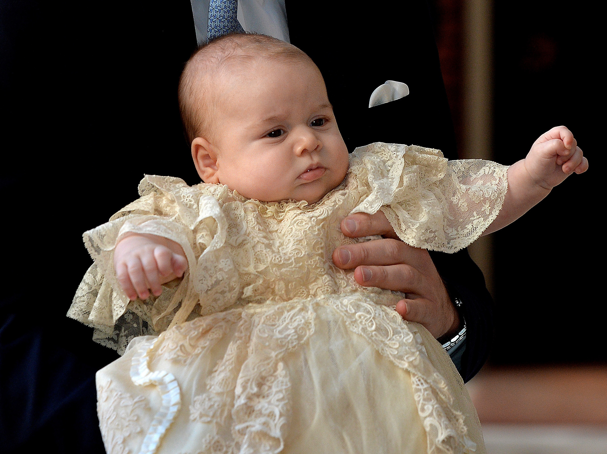Prince Louis Christening Gown And Robe Details Revealed