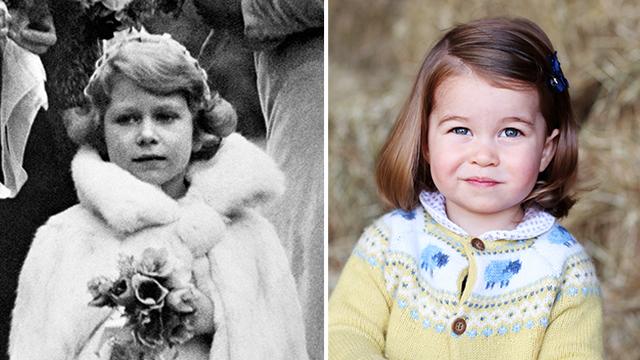 Queen Princess Charlotte face shape
