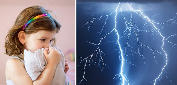 How to comfort young children during thunderstorms
