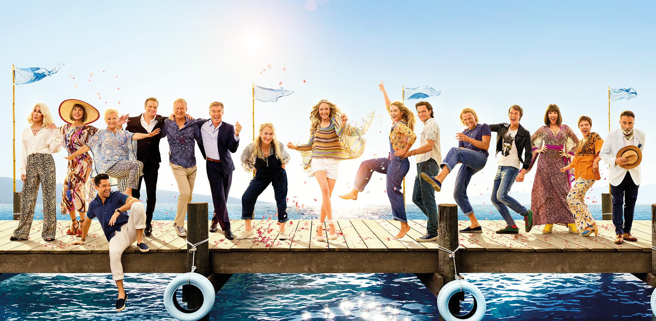 Mamma Mia 2 filming