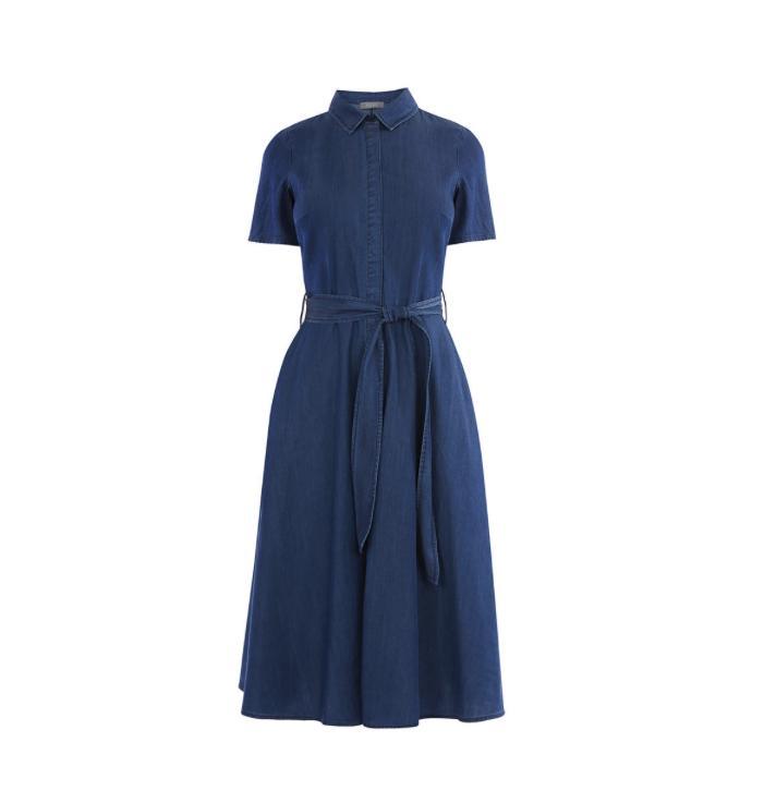 Oasis midi shirt dress
