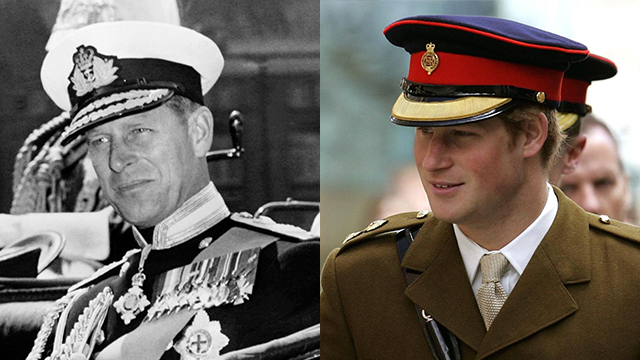 Prince Philip and Prince Harry 3