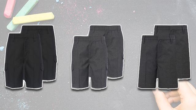Sainsbury's school shorts