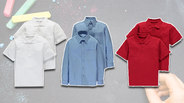 School shirts matalan