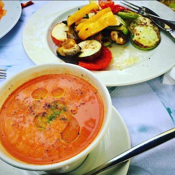 Melanie Sykes food