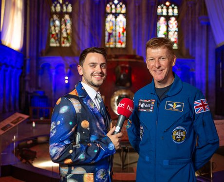 Tim Peake's Spacecraft Launch