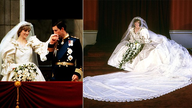 Diana Wedding Dress.Princess Diana Had A Second Secret Wedding Dress For Her