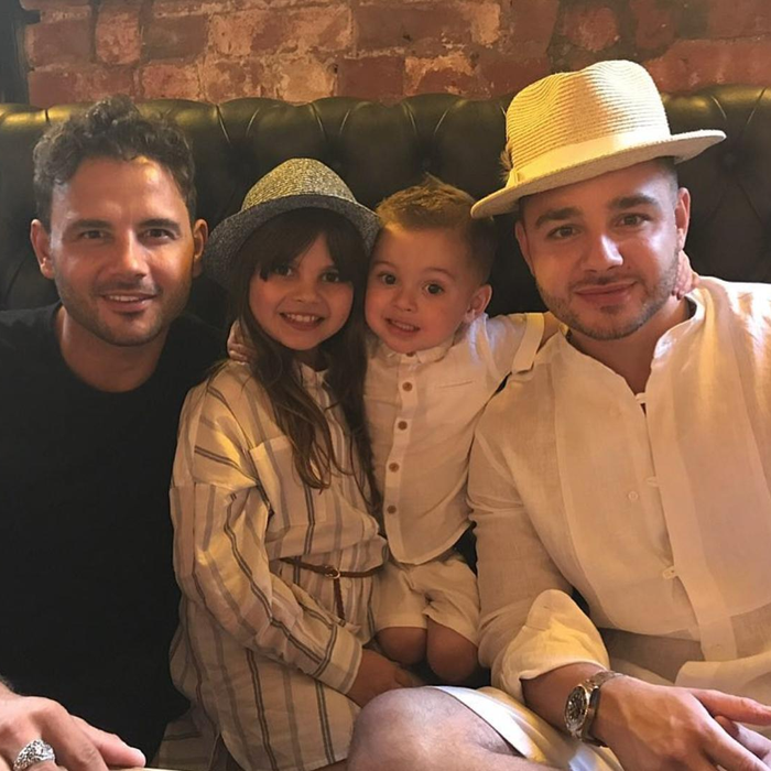 Ryan Thomas and family