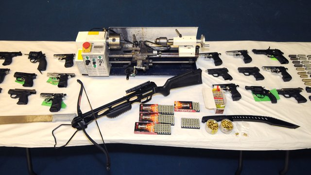 Bedford Men Jailed Over Weapons Conversions - Heart Four Counties