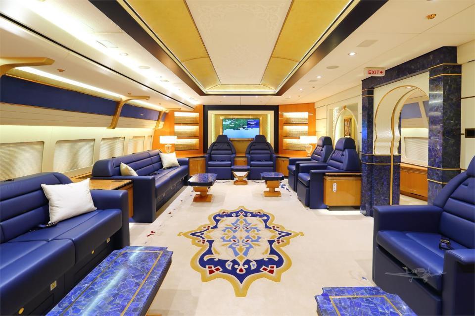 Qatari royal family plane